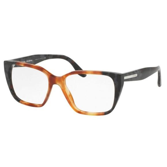 Prada Accessories - PR08TV-U6L1O1-51 Women's Havana Frame Eyeglasses